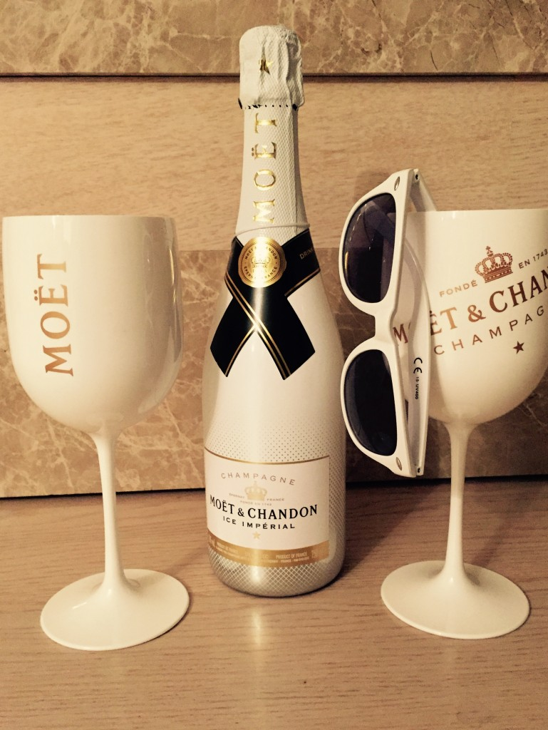 champagne ice moet et chandon