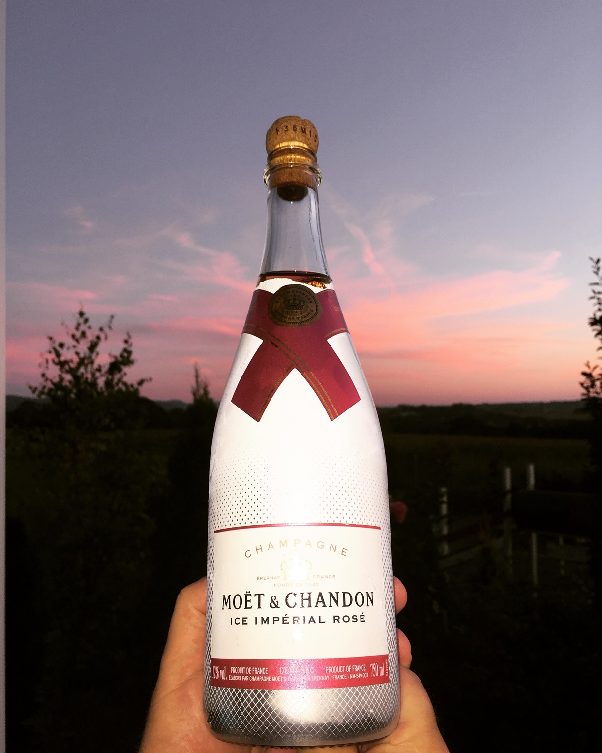 Moet and Chandon Ice Imperial Rose
